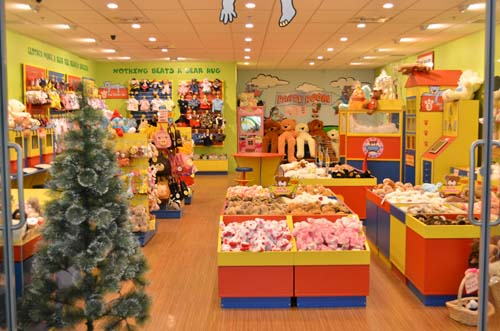 our five stars teddy shop